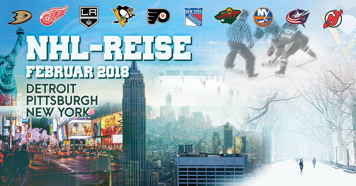 Nhl Reise 2018 Nach Detroit Pittsburgh Und New York Sportfanreisen